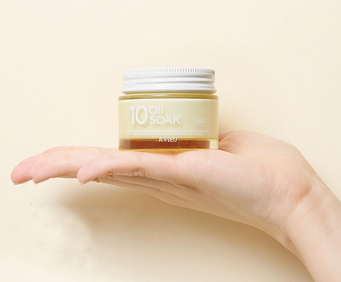 Крем для лица на растительных маслах A'PIEU 10 Oil Soak Cream | фото 3 | Sweetness