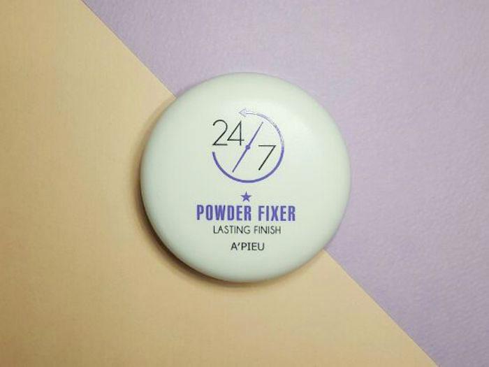 Пудра-фиксатор макияжа A'PIEU 24/7 Powder Fixer фото 2   Sweetness
