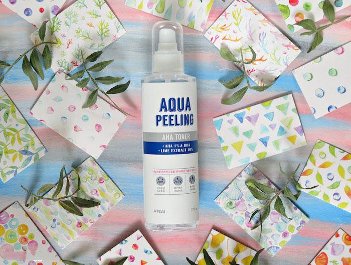 Тонер с АНА и ВНА-кислотами A'PIEU Aqua Peeling AHA Toner фото 1 | Sweetness