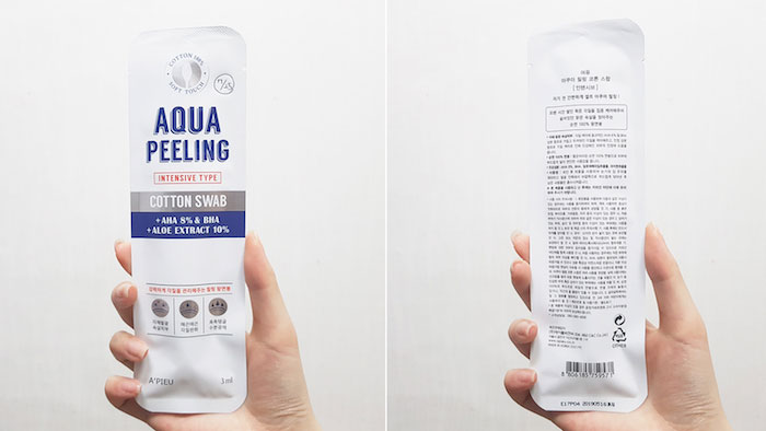 Кислотный пилинг с 8% AHA и BHA A'PIEU Aqua Peeling Cotton Swab Intensive фото 1 | Sweetness