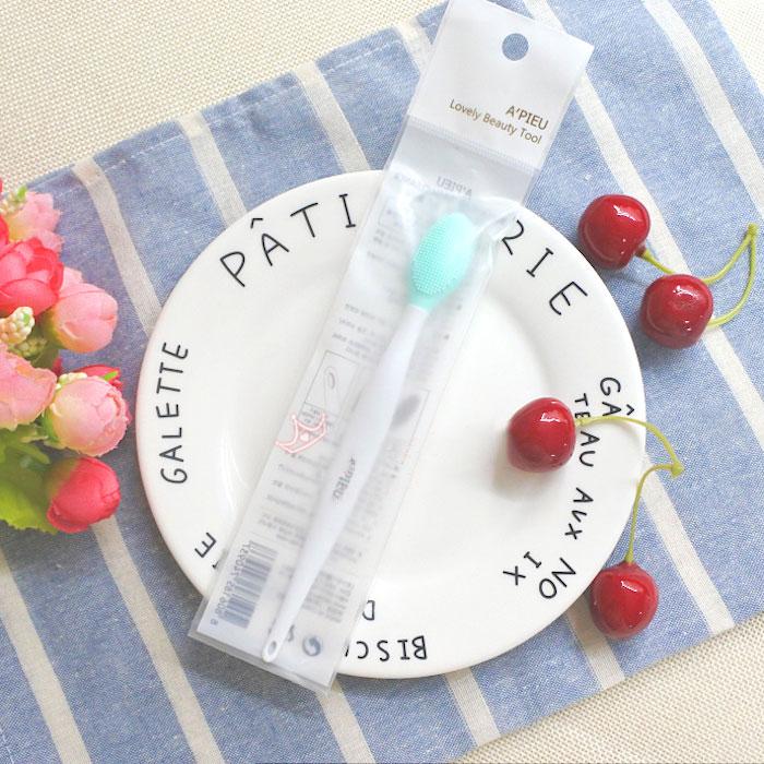 Очищающая щеточка против черных точек A'PIEU Black Head Wash Cleaner фото 1 | Sweetness
