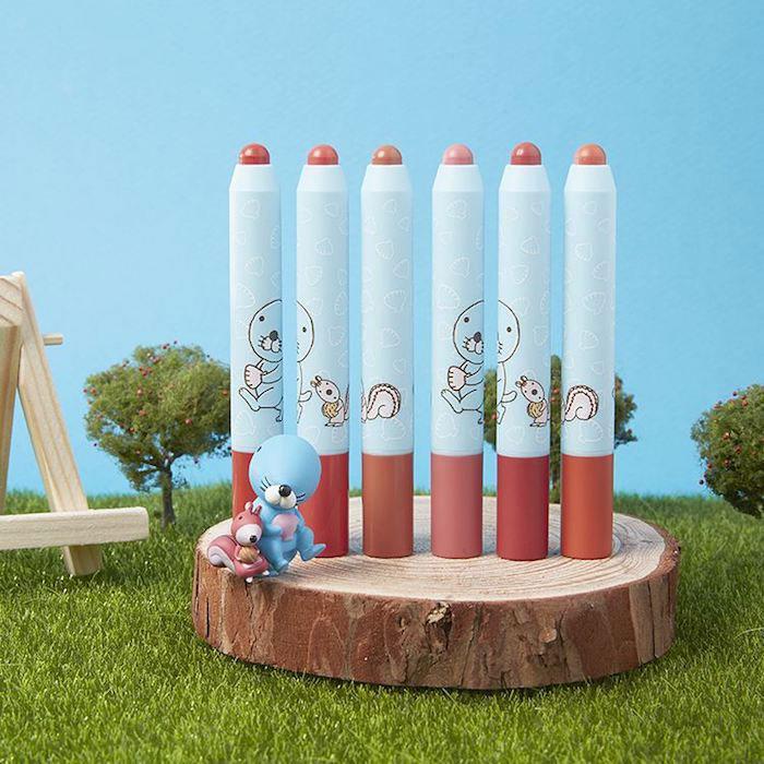 Матовая помада в виде карандаша A'PIEU BONO BONO Color Lip Pencil Matt фото 1 | Sweetness