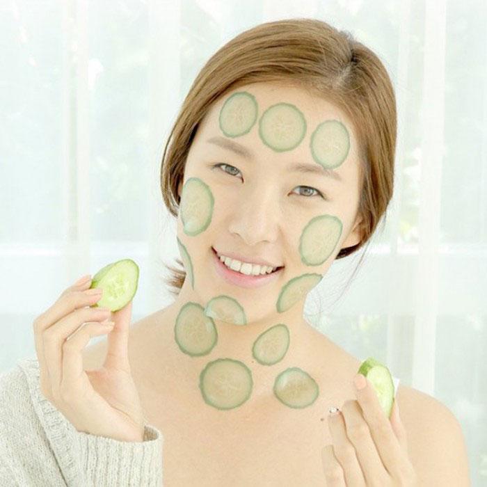 Маски-слайсы Огурец A'PIEU Cucumber Slice Sheet Mask фото 3   Sweetness