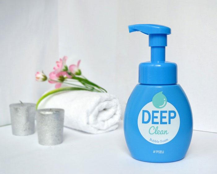 Пенка для умывания-мусс для глубокого очищения A'PIEU Deep Clean Bubble Foam фото 1 | Sweetness