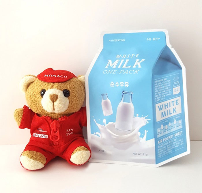 Тканевые молочные маски A'PIEU Milk One Pack фото 12 | Sweetness