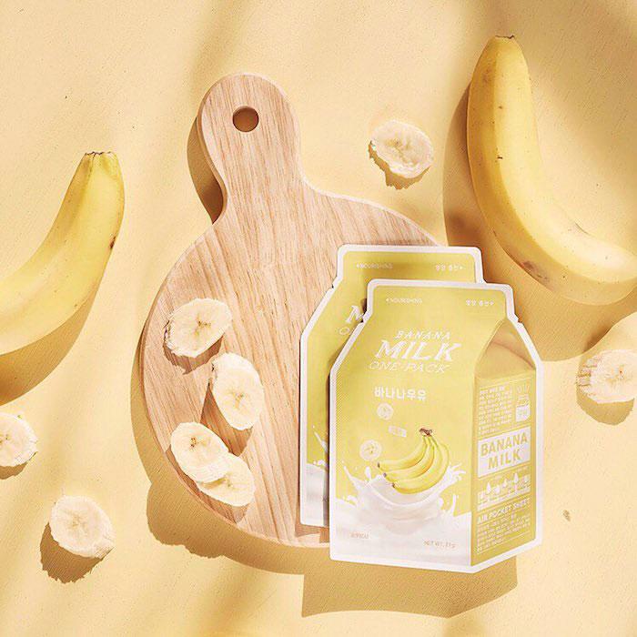 Тканевые молочные маски A'PIEU Milk One Pack фото 4 | Sweetness
