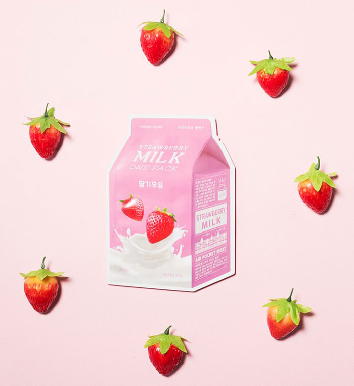 Тканевые молочные маски A'PIEU Milk One Pack фото 8 | Sweetness