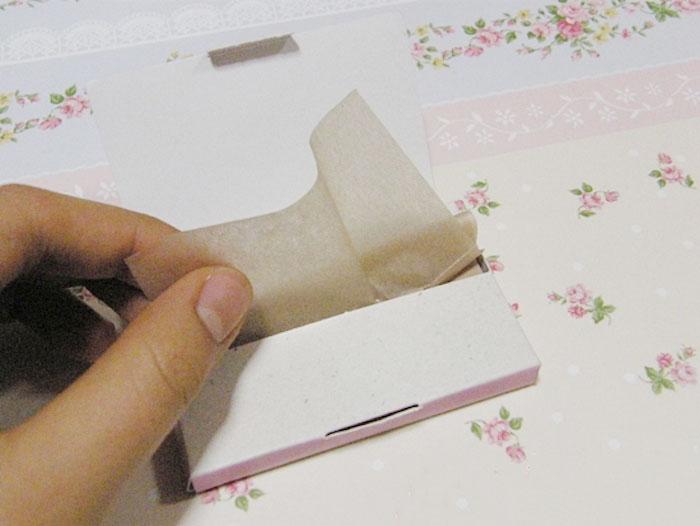 Матирующие салфетки A'PIEU Natural 100 Oil Control Paper фото 3 | Sweetness
