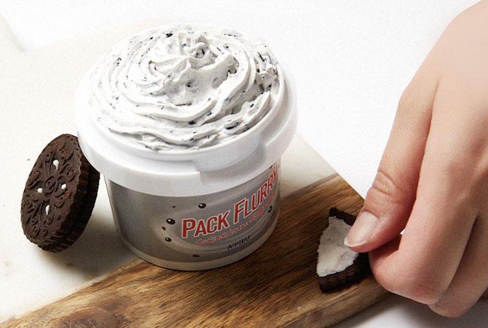 Маска скраб Мороженко A'PIEU Pack Flurry фото 2 | Sweetness