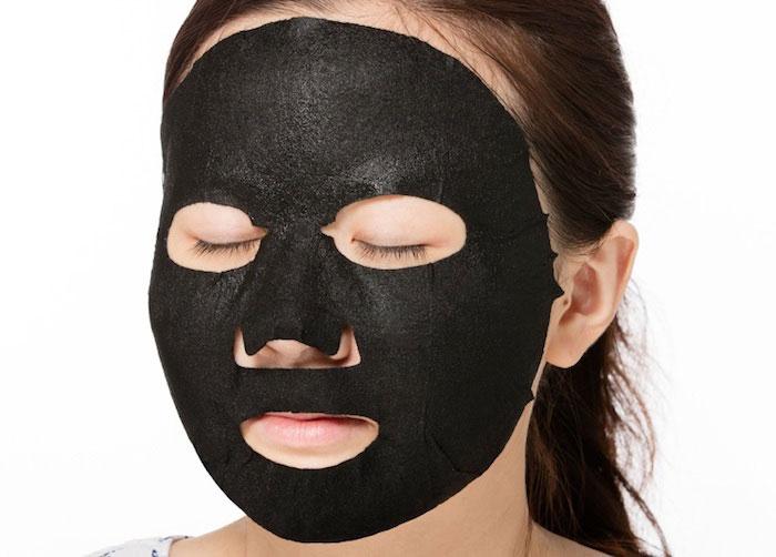 Угольная очищающая Тканевая маска A'PIEU Pore Deep Clear Black Charcoal Mask фото 2 | Sweetness