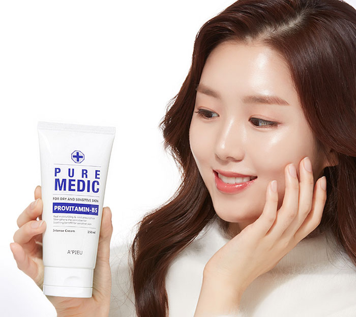Увлажняющий крем для сухой и чувствительной кожи A'PIEU Pure Medic Intense Cream фото 1 | Sweetness