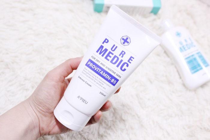 Увлажняющий крем для сухой и чувствительной кожи A'PIEU Pure Medic Intense Cream фото 2 | Sweetness