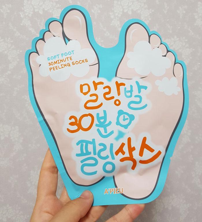 Пилинг носочки A'PIEU Soft Foot Peeling Socks фото 1 | Sweetness