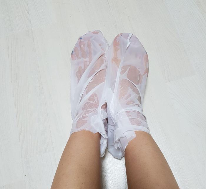 Пилинг носочки A'PIEU Soft Foot Peeling Socks фото 3 | Sweetness