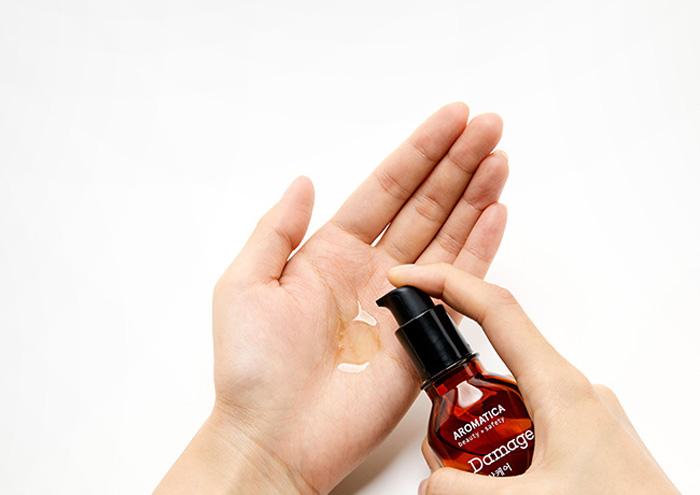 Эссенция для повреждённых волос с маслом арганы AROMATICA Argan Damage Care Hair Essence фото 3 | Sweetness