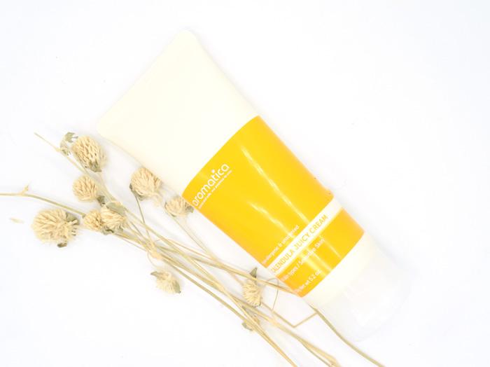 Гипоаллергенный крем с календулой AROMATICA Calendula Juicy Cream фото 3   Sweetness