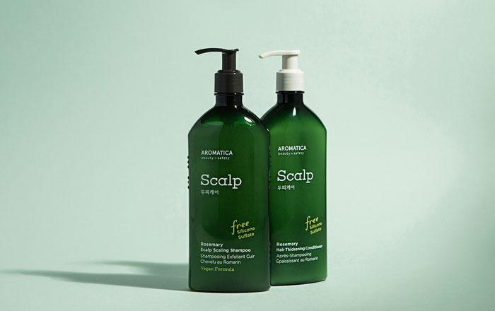 Безсиликоновый кондиционер для волос с розмарином AROMATICA Rosemary Hair Thickening Conditioner фото 1 | Sweetness корейская косметика