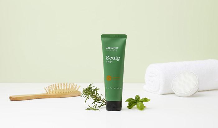 Очищающий скраб для кожи головы с розмарином AROMATICA Rosemary Scalp Scrub фото 1 | Sweetness корейская косметика