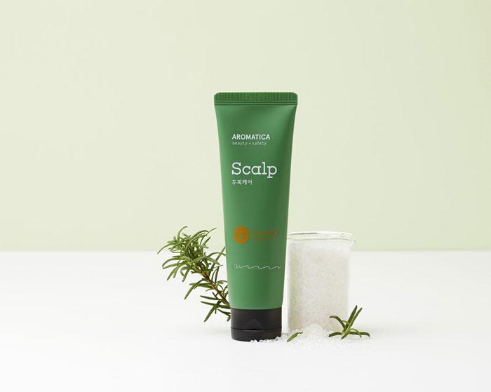 Очищающий скраб для кожи головы с розмарином AROMATICA Rosemary Scalp Scrub фото 2 | Sweetness корейская косметика