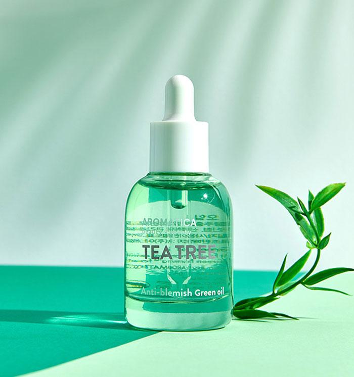 Освежающее масло с чайным деревом AROMATICA Tea Tree Green Oil фото 2 | Sweetness