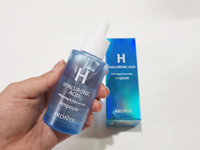 Сыворотка для лица с гиалуроновой кислотой Aronix Hyaluronic Ampole фото 2 / Sweetness