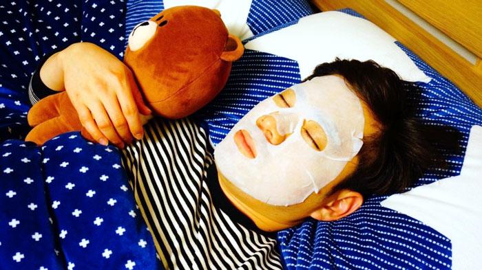 Тканевая маска с экстрактом центеллы Medi Flower Special Treatment Bouncy Mask Pack (Centella) фото 3 / Sweetness