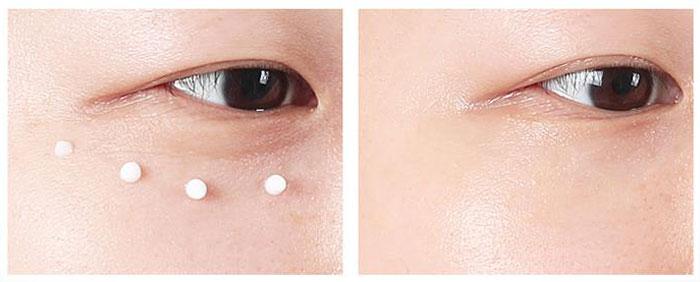 Осветляющий крем для век с морским коллагеном Aronix Triple Effect Real Collagen Wrinkle Eye Cream фото 4 / Sweetness