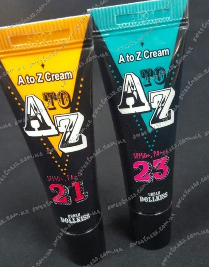 Urban Dollkiss A to Z Cream SPF50+ PA+++ ББ крем от А до Я фото 1 | Sweetness