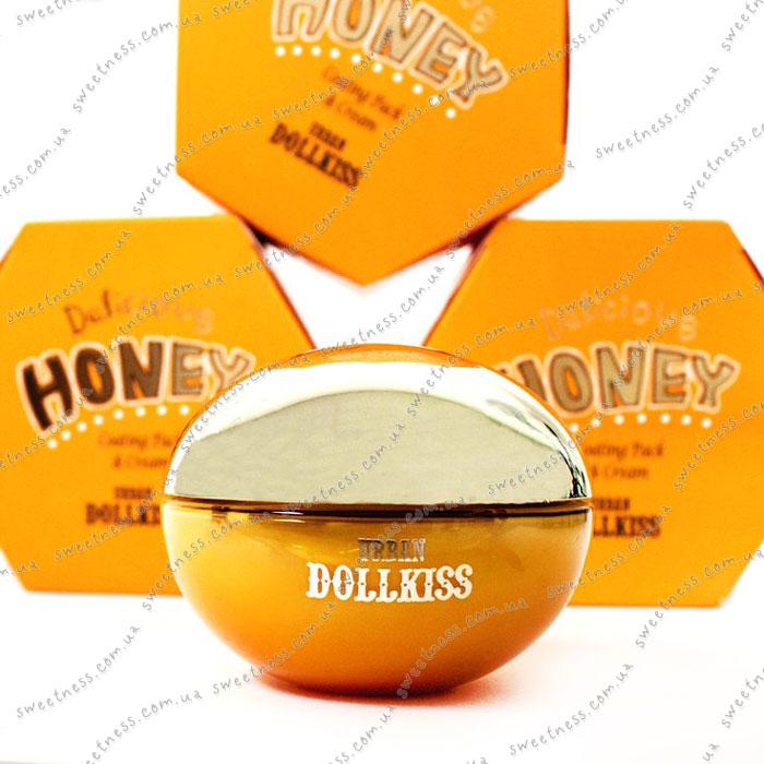 Крем-маска для с экстрактом натурального меда Baviphat Urban Dollkiss Delicсious Honey Ceating Pack & Cream фото 2   Sweetness