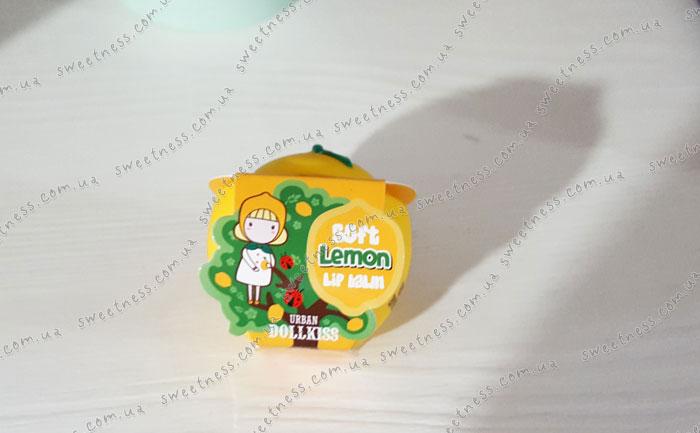 Бальзам для губ Лимон Urban Dollkiss Lemon Soft Lip Balm фото 1 | Sweetness