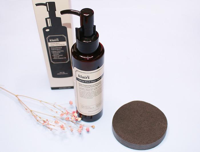 Гидрофильное масло для глубокого очищения Dear Klairs Gentle Black Deep Cleansing Oil фото 1   Корейская косметика Sweeetness