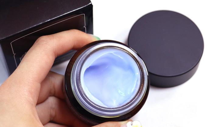 Успокаивающий ночной крем с азуленом, центеллой и факторами роста Dear Klairs Midnight Blue Calming Cream фото 3 | Корейская косметика Sweetness