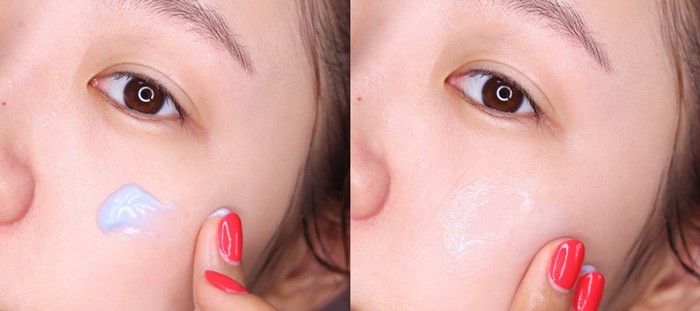 Успокаивающий ночной крем с азуленом, центеллой и факторами роста Dear Klairs Midnight Blue Calming Cream фото 6 | Корейская косметика Sweetness