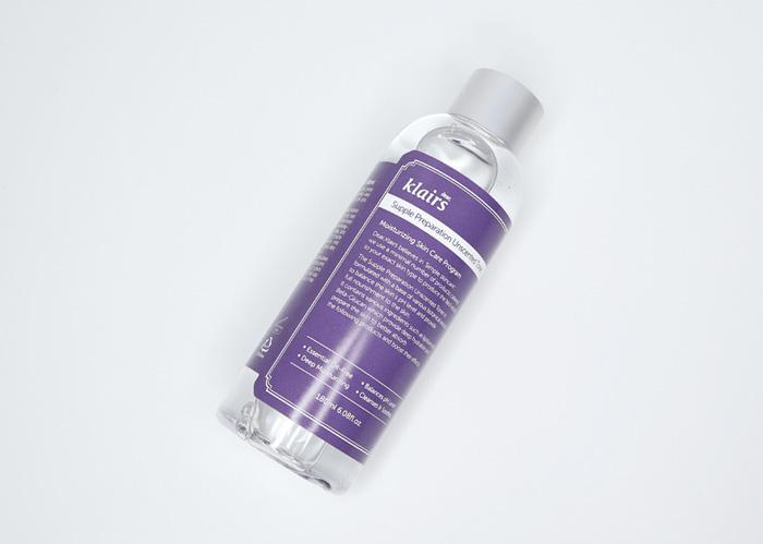 Гипоаллергенный увлажняющий тонер без масел и запаха Dear Klairs Supple Preparation Unscented Toner фото 1   Корейская косметика Sweeetness