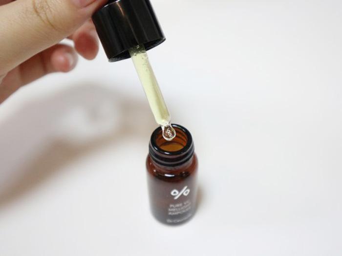 Антивозрастная сыворотка с аскорбиновой кислотой, фуллеренами и идебеноном Dr. Ceuracle Pure VC Mellight Ampoule фото 4 | Корейская косметика Sweetness
