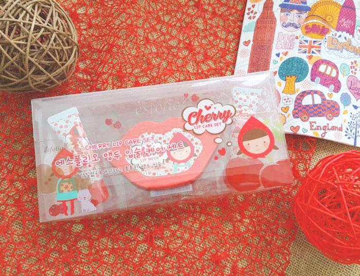 Esfolio Cherry Lip Care Set Набор ухода за губами фото 1 | Sweetness