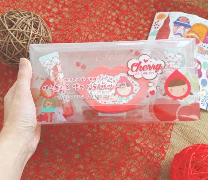 Esfolio Cherry Lip Care Set Набор ухода за губами фото 2 | Sweetness