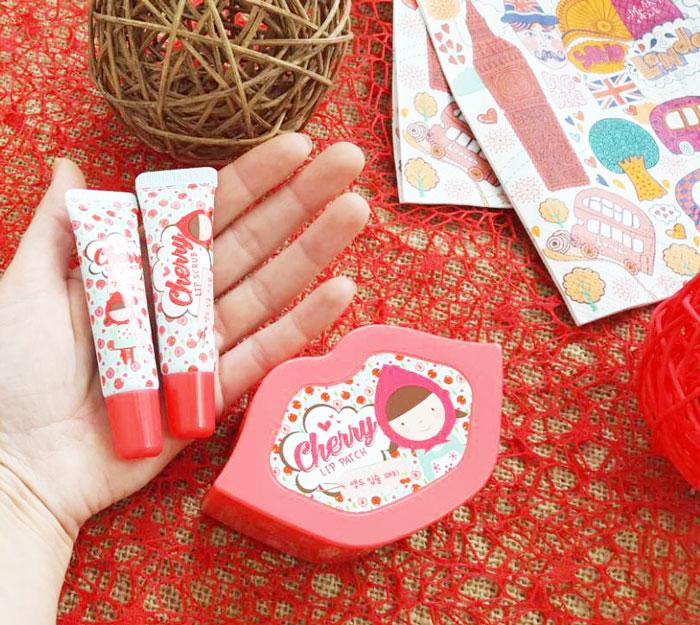 Esfolio Cherry Lip Care Set Набор ухода за губами фото 5 | Sweetness
