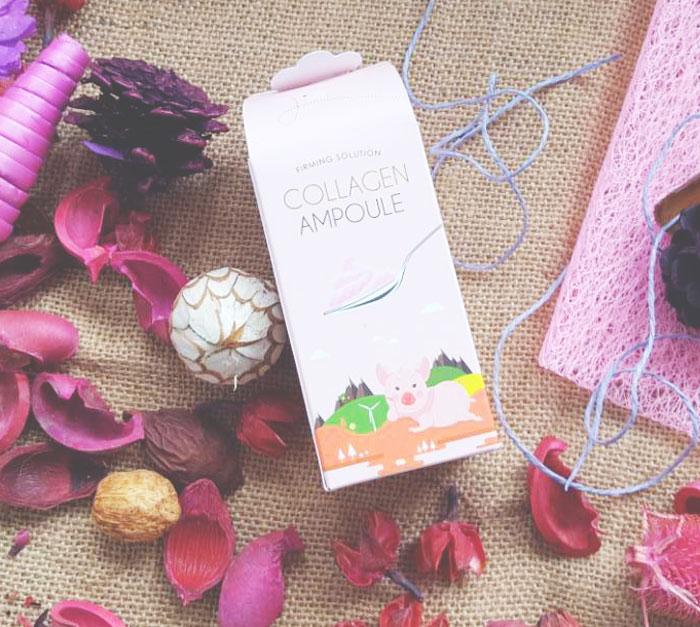 Esfolio Collagen Ampoule Гелевая коллагеновая сыворотка фото 2 | Sweetness