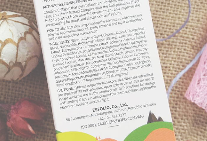 Esfolio Collagen Ampoule Гелевая коллагеновая сыворотка фото 3 | Sweetness