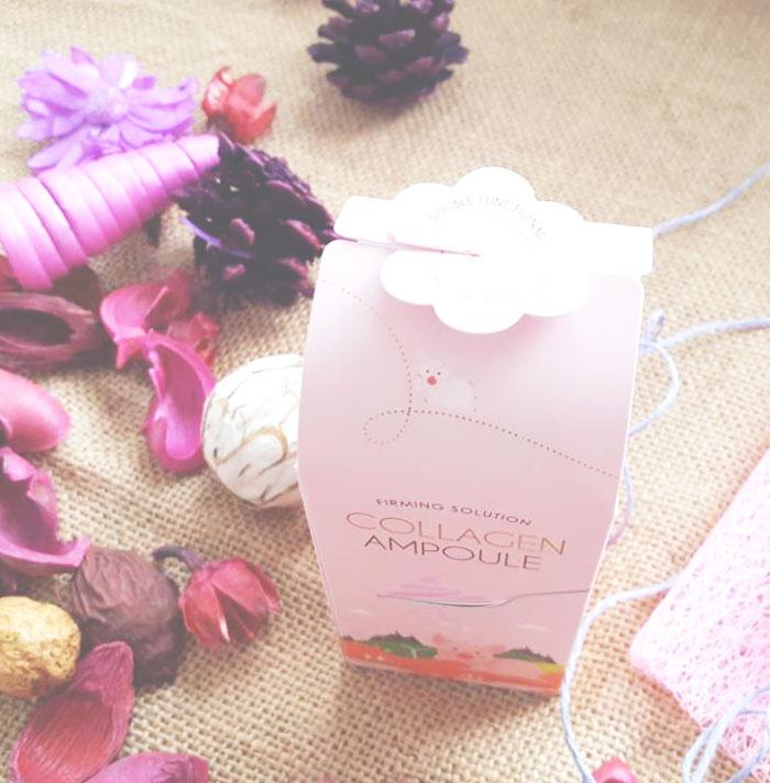 Esfolio Collagen Ampoule Гелевая коллагеновая сыворотка фото 4 | Sweetness