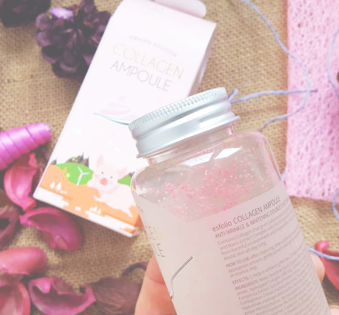 Esfolio Collagen Ampoule Гелевая коллагеновая сыворотка фото 5 | Sweetness