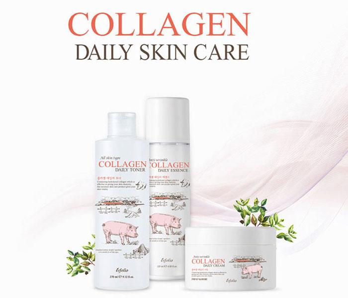 Esfolio Collagen Daily Cream Коллагеновый крем фото 1 | Корейская косметика Sweetness