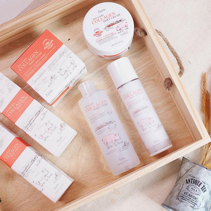 Esfolio Collagen Daily Cream Коллагеновый крем фото 2 | Корейская косметика Sweetness