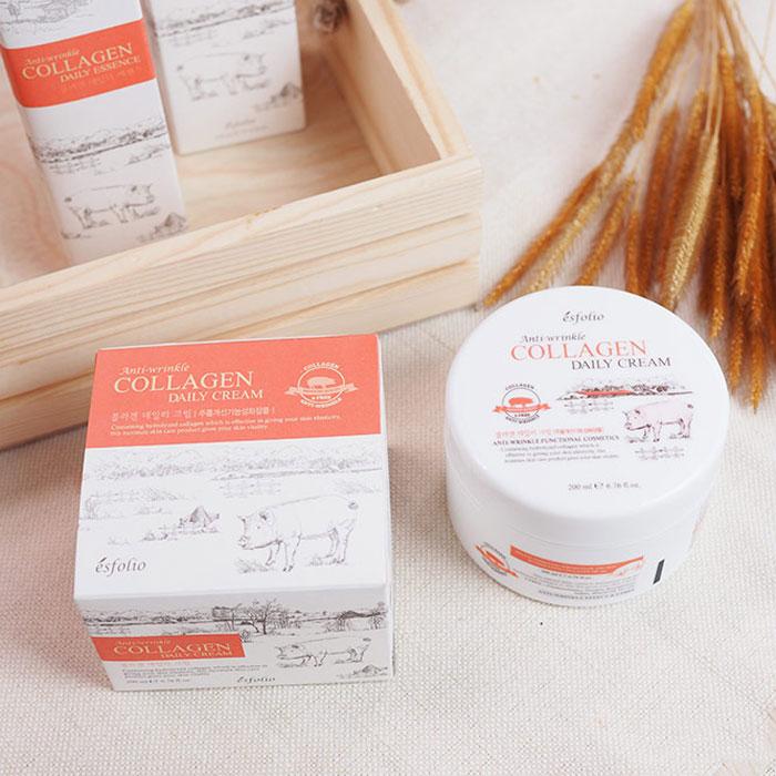 Esfolio Collagen Daily Cream Коллагеновый крем фото 3 | Корейская косметика Sweetness