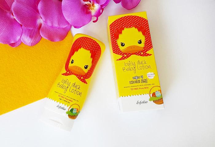 Esfolio Lovely Duck Baby Lotion Детский лосьон для тела Милый утенок фото 2 | Sweetness