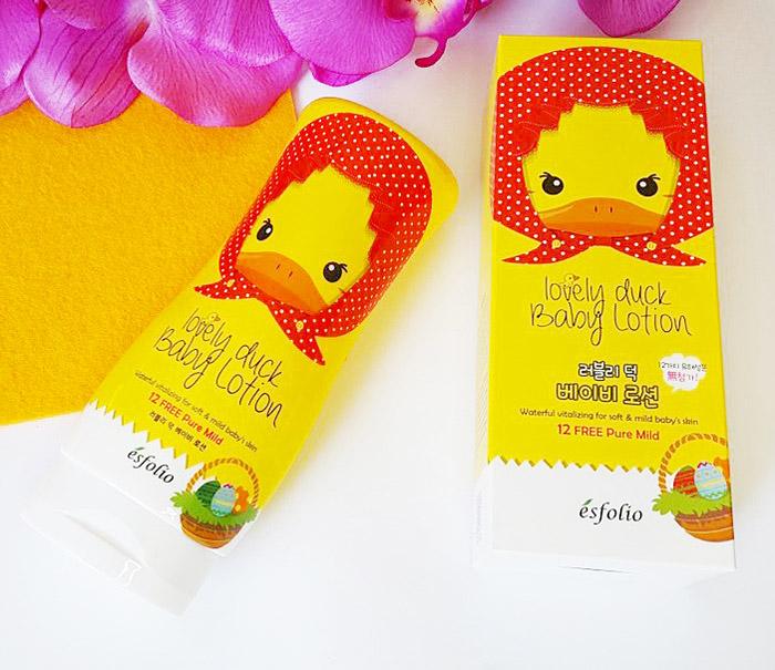 Esfolio Lovely Duck Baby Lotion Детский лосьон для тела Милый утенок фото 3 | Sweetness