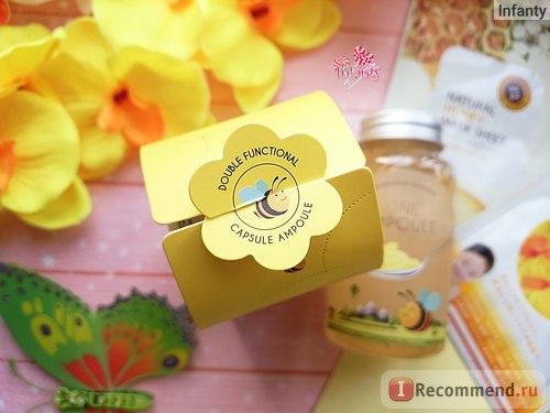 Esfolio Honey Ampoule Ампульный питательный медовый гель фото 2 | Sweetness