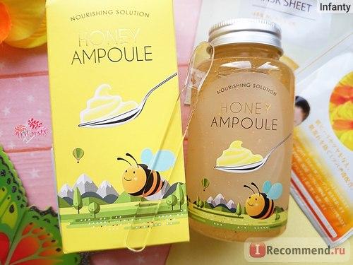 Esfolio Honey Ampoule Ампульный питательный медовый гель фото 3 | Sweetness