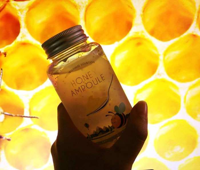 Esfolio Honey Ampoule Ампульный питательный медовый гель фото 9 | Sweetness
